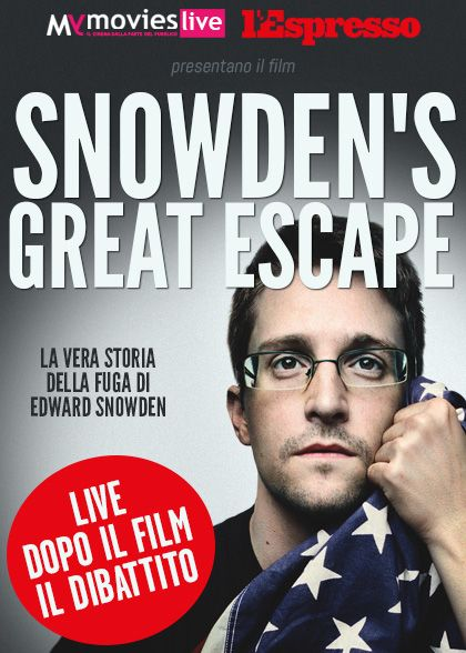 Snowden's Great Escape - A unique streaming event on MYMOVIESLIVE! Stay tuned and book your free entry… March the 19 is getting closer!