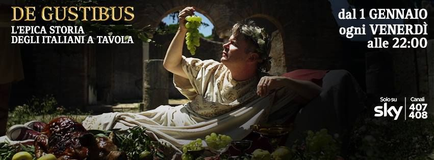 "EATING HISTORY The story of Italy on a plate - This Friday night the last episode ""VIVA L'ITALIA"" at 10.00PM always on History Channel!"